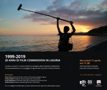 1999-2019 Venti anni di Film commission in Liguria
